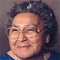 Clara Moses (Present-day Biigtigong Speaker)