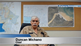 Chief-and-Council discuss Biigtigong language project