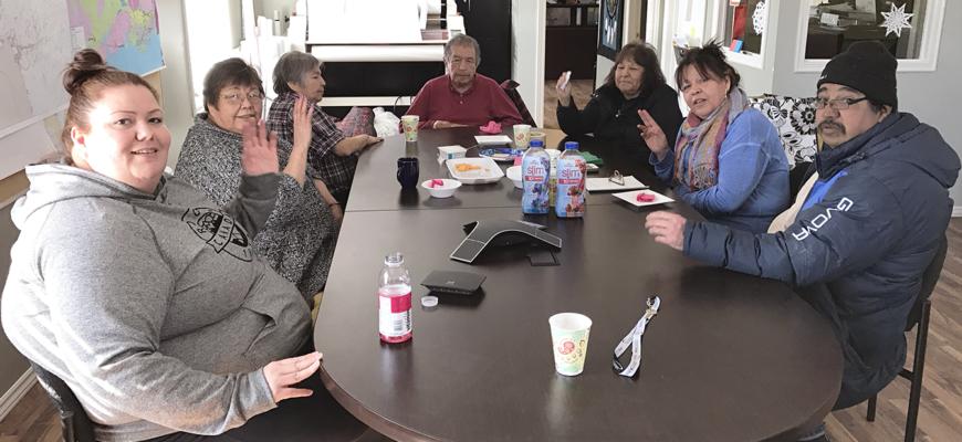 Aadsookaanan reconstruction - first community meeting - March 15, 2017