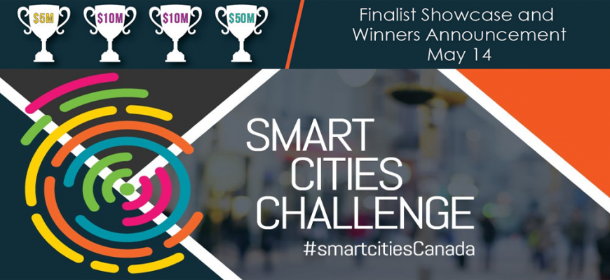 Smart Cities Challenge - Announcement of Winners - May 14, 2019 - Ottawa